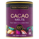 Food Thoughts Melts 100% Cacao