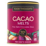 Food Thoughts Melts 70% Cacao