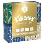 Kleenex Collection Cube Quad Pack