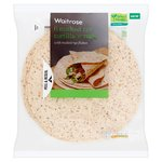 Waitrose Malted Rye Tortilla Wraps