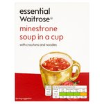 Essential Waitrose Minestrone Cup Soup