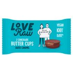 LoveRaw 2 Butter Cups Salted Caramel