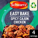 Schwartz Tray Bake Cajun Chicken