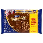 McVitie's Digestives Milk Chocolate Twin Pack