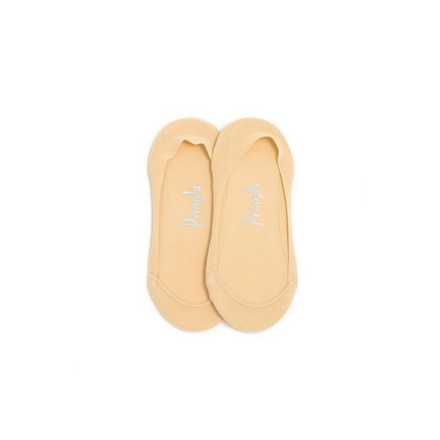Pringle Womens Invisible Liner Socks, Nude, Size 4-8