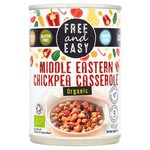 Free & Easy Free From & Organic Middle Eastern Chickpea Casserole