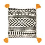 Sass & Belle Scandi Boho Mustard Tassel Cushion