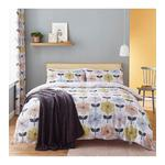 Catherine Lansfield Retro Floral Single Duvet Set