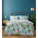 Catherine Lansfield Tropical Leaf Single Duvet Set