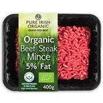 Pure Irish Organic Extra Lean Beef Steak Mince 5% Fat