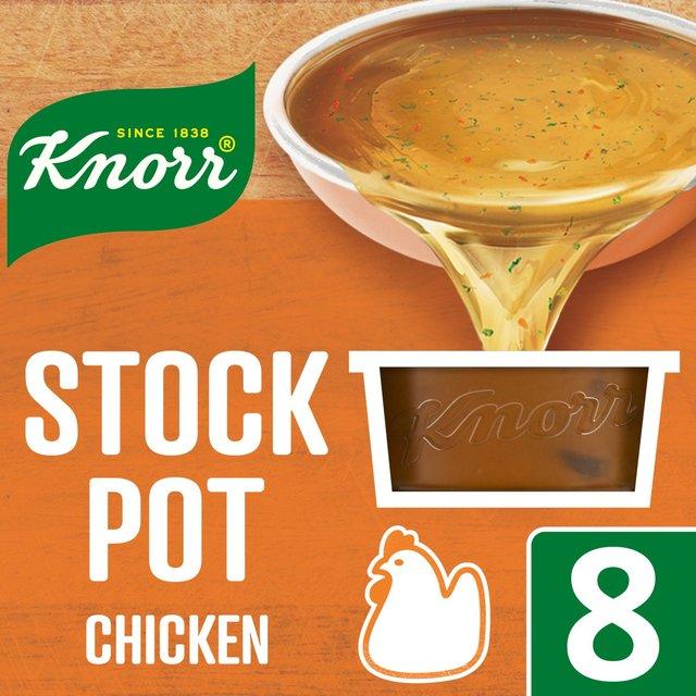 Knorr Chicken Stock Pot 8 x 28g from Ocado