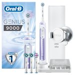 Oral-B Genius 9000 Purple Electric Rechargable Toothbrush