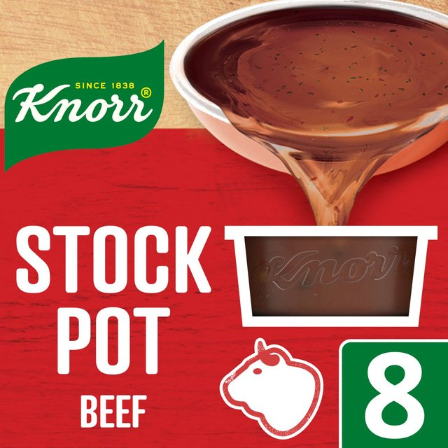 Knorr Beef Stock Pot 8 x 28g from Ocado