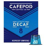 CafePod Decaffeinated Nespresso Compatible Coffee Capsules