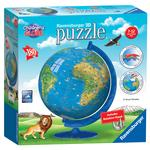 Children's World Globe, 180pc 3D Jigsaw Puzzle