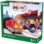 BRIO World Metro Railway Set