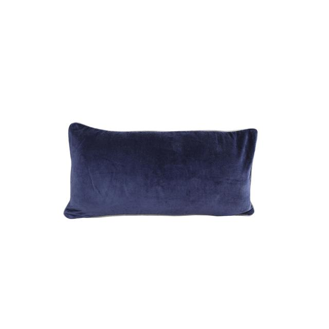Raine & Humble Velvet Breakfast Cushion Denim