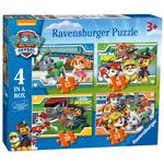 Paw Patrol 4 in a Box Jigsaw Puzzles