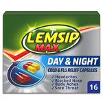 Lemsip Max Day & Night Relief Capsules