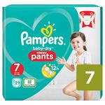 Pampers Baby Dry Pants Size 7 Essential Pack