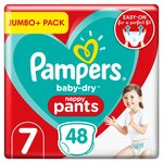 Pampers Baby Dry Pants Size 7 Jumbo+ Pack