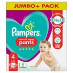 Pampers Premium Protection Pants Size 4, 47 Nappy Pants, Jumbo Pack