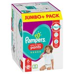 Pampers Premium Protection Pants Size 6, 35 Nappy Pants, Jumbo Pack