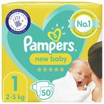 Pampers Premium Protection Size 1, 56 Nappies,  Essential Pack