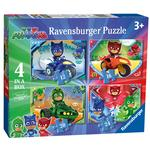 PJ Masks 4 in a Box Jigsaw Puzzles