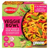 Birds Eye Veggie Bowl Asian Sweet and Sour Noodles Frozen