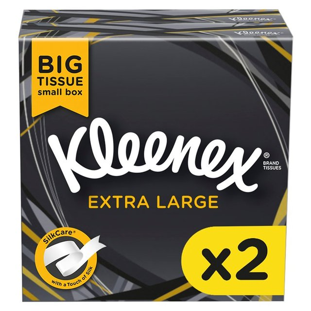 kleenex mansize compact 2 x 44 per pack from ocado