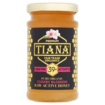TIANA Pure Organic Cherry Blossom Raw Active Honey
