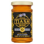 TIANA FairTrade Organics Raw Active Wild Mountain Flower Honey