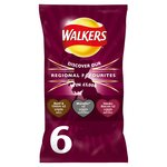 Walkers Regional Favourites Beef & Onion Marmite Smoky Bacon