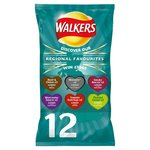 Walkers Regional Favourites Variety Flavours