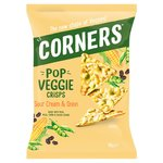 Corners - Pop Veggie - Corn, Peas and Bean - Sour Cream & Onion