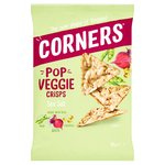 Corners - Pop Veggie - Chickpea, Beetroot and Pea - Sea Salt