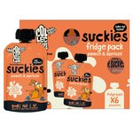 The Collective Kids Peach & Apricot Suckies Yoghurt  Multipack