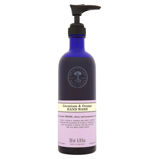 Neal's Yard Geranium and Orange Hand Wash