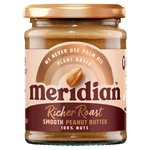 Meridian Rich Roast Smooth Peanut Butter