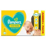 Pampers Premium Protection Size 1, 72 Nappies