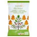 Waitrose Christmas Tree Shaped Tortillas Turkey & Stuffing Flavour