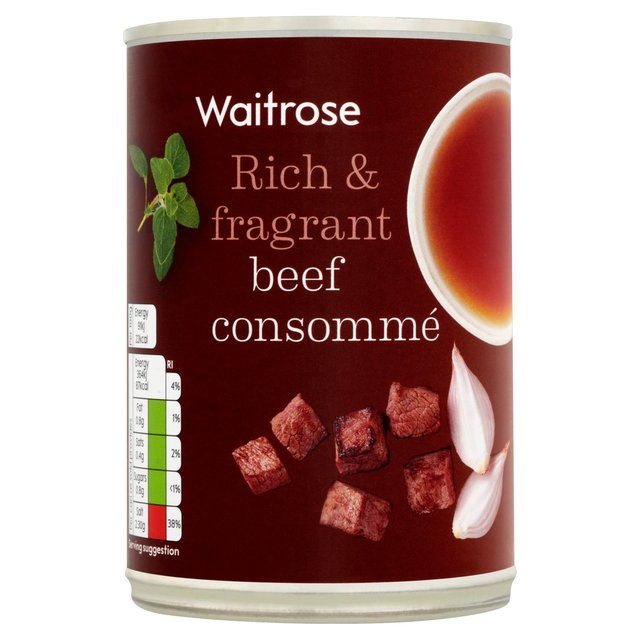 Waitrose Beef Consomme
