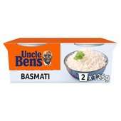 Uncle Bens Basmati Microwave Rice Pots