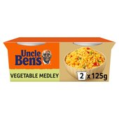 Uncle Bens Vegetable Medley Microwave Rice Pots