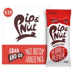 Pip & Nut Smooth Hi-Oleic Peanut Butter Squeeze Packs