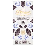 Divine Organic 85% Dark with Blueberry & Quinoa