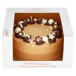 Waitrose Chocolate & Toffee Wreath Cake