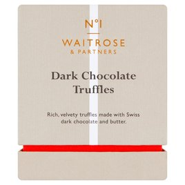 Waitrose 1 Dark Chocolate Truffles Ocado