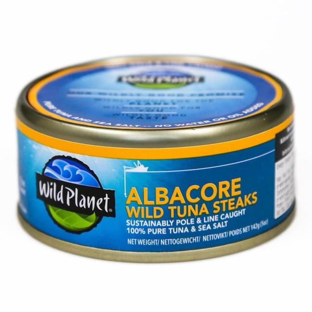 Wild Planet Foods Albacore Tuna Steaks